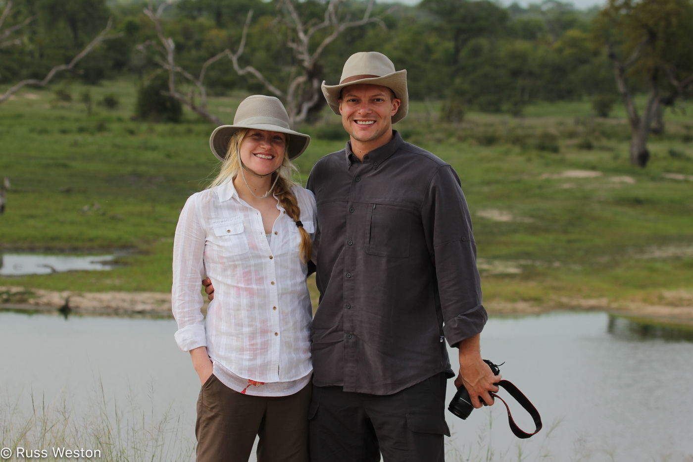 Honeymoon Safari Couple