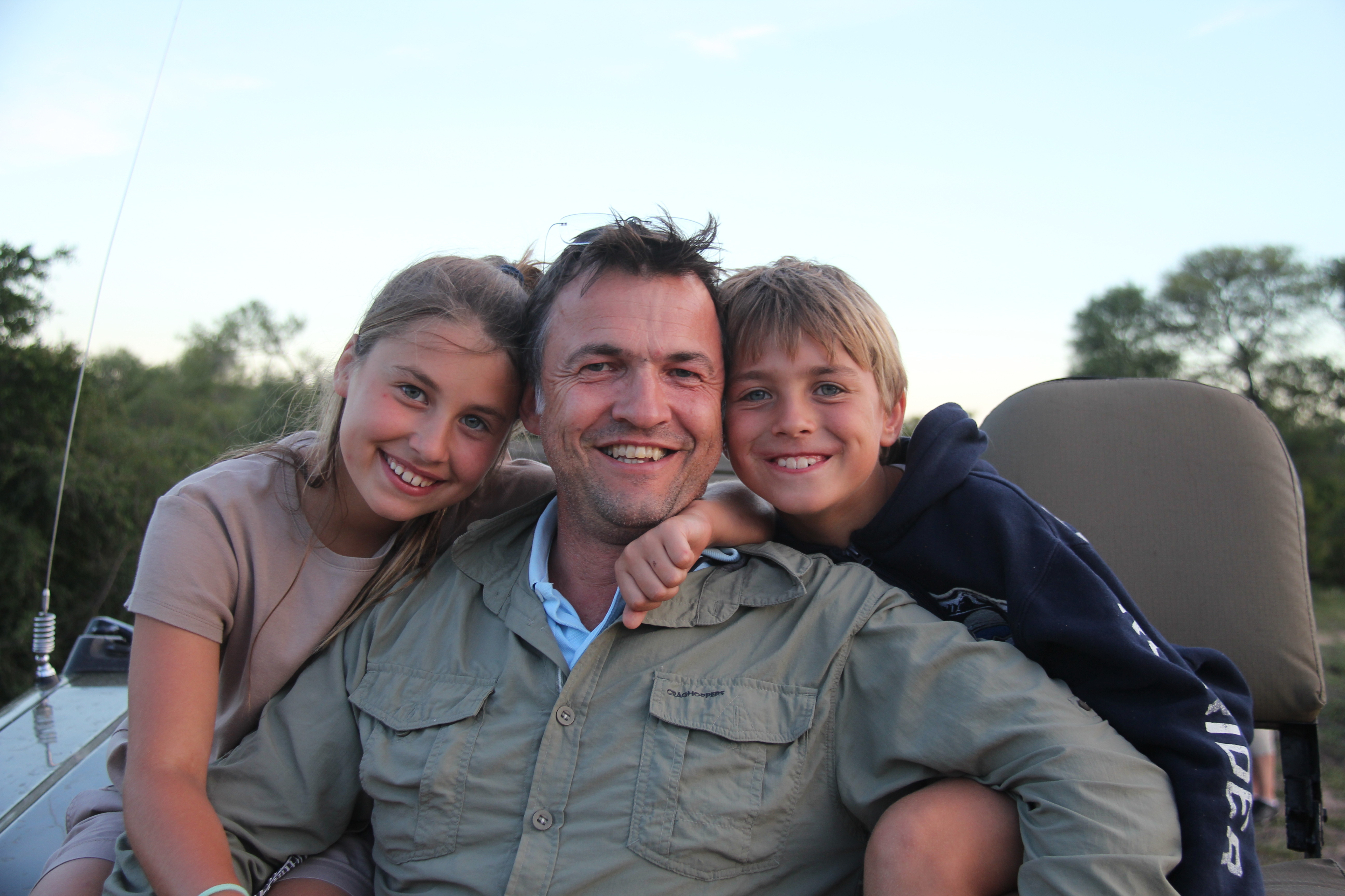 Family Time on Safari