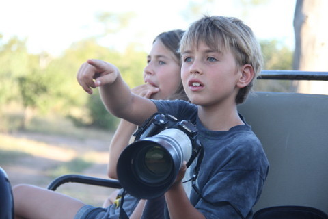 Young Safari Photographer